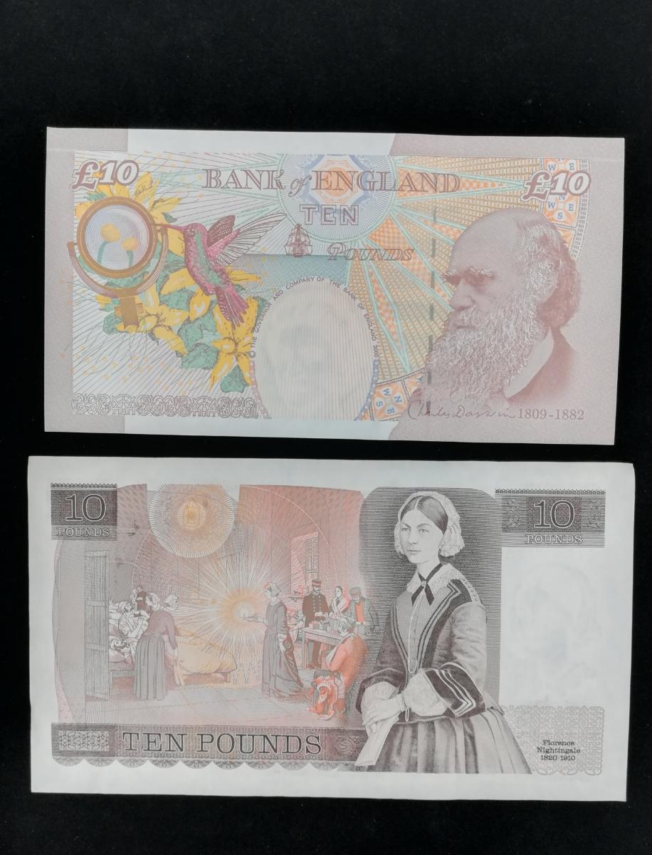 旧イギリスポンド紙幣7枚『美品』 管理755_画像4