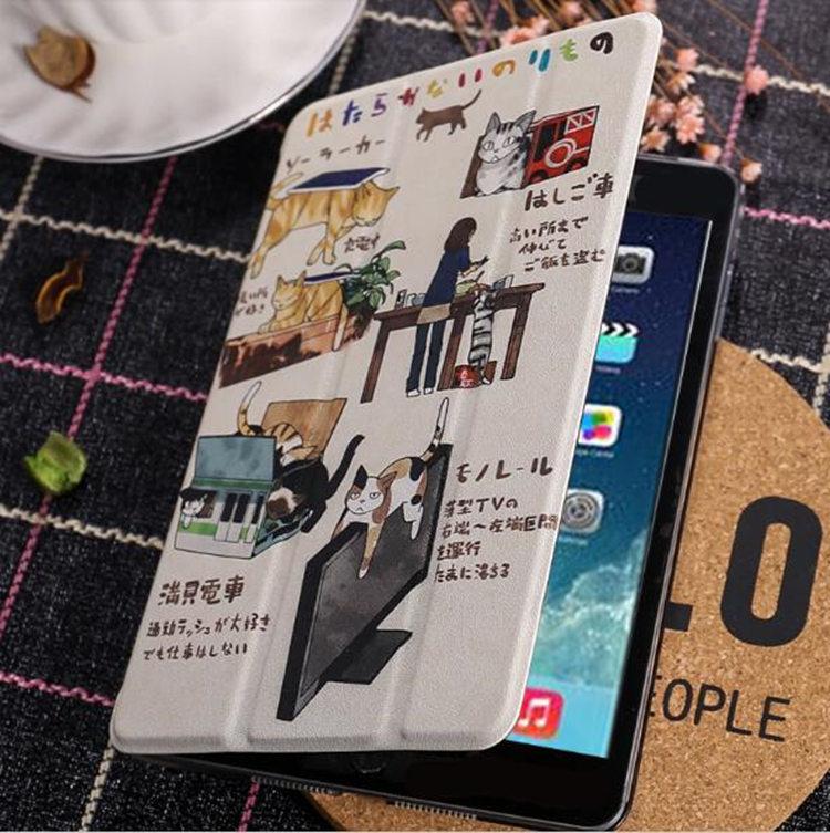 iPad Pro 9.7 ケース アイパッドプロ ケース (9.7インチ)手帳型 軽量 極薄 透明ケース オートスリープ機能付き スタンドタイプ_画像7
