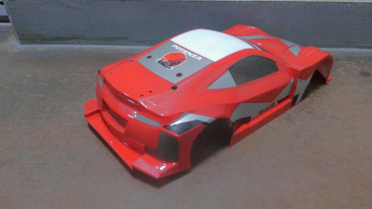1/10 RC ツーリングカーボディセット ジャンク出品 ベンツ HSV010 フェラーリ LED電飾_画像5