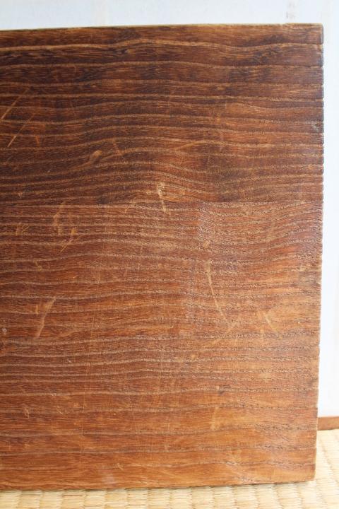 即決■【桐材】 床の間の引戸2枚■58×30cm■銘木板戸■付書院■地袋天袋木製無垢材引き戸古建具木工品昭和レトロ時代古道具骨董古民家和室_画像8