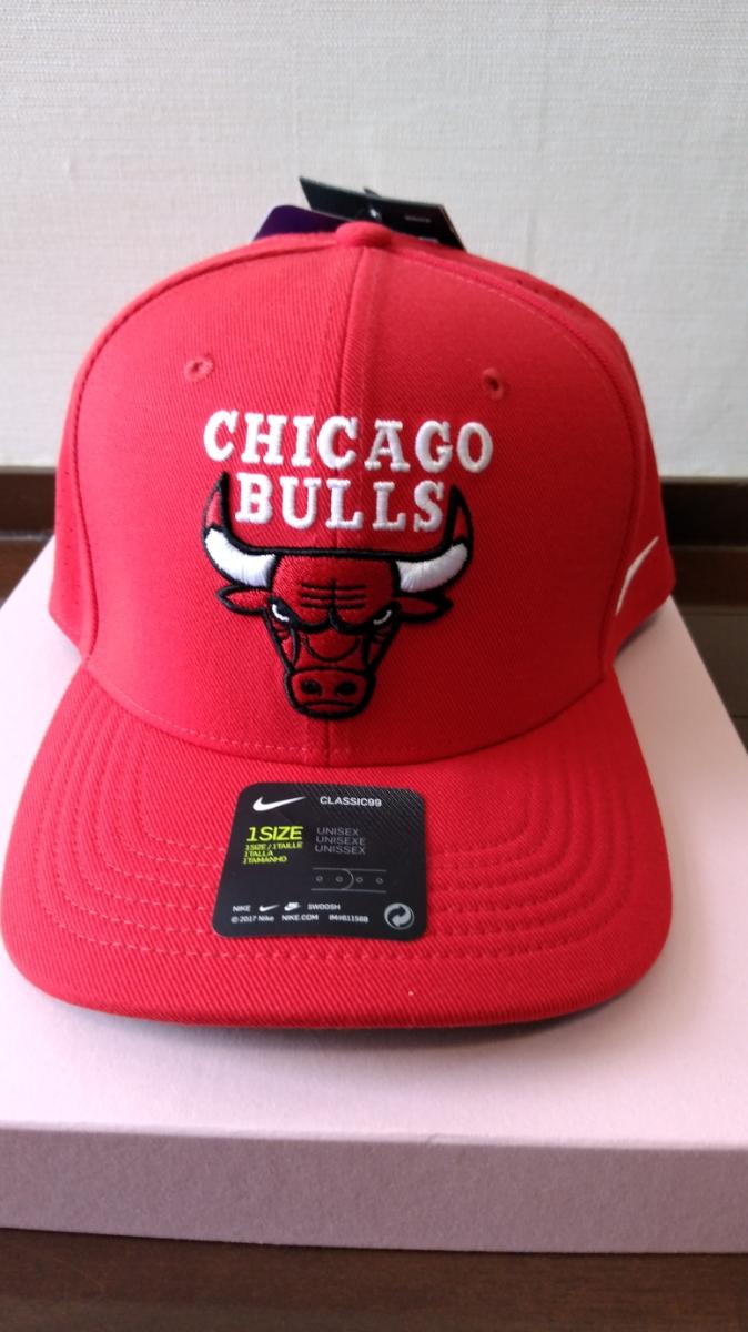 Nike Chicago ruz Nike aero Bill Classic 99 unisex adjustable NBA cap red  57~59 05d8ca25fb4