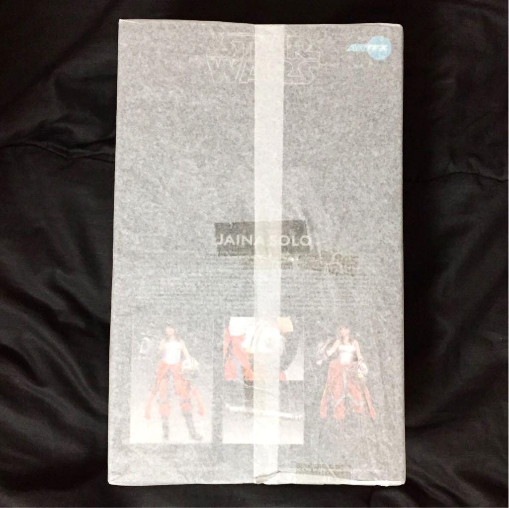 【新品未開封】コトブキヤ ジェイナ・ソロ フィギュア 薄紙付き スター・ウォーズ ARTFX BISHOUJO 1/7スケール 壽屋 STAR WARS_画像2