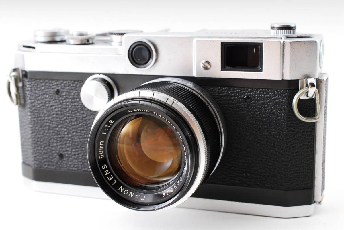 Canon Model L3 ライカマウント 50mm F1.8レンズ付き A15