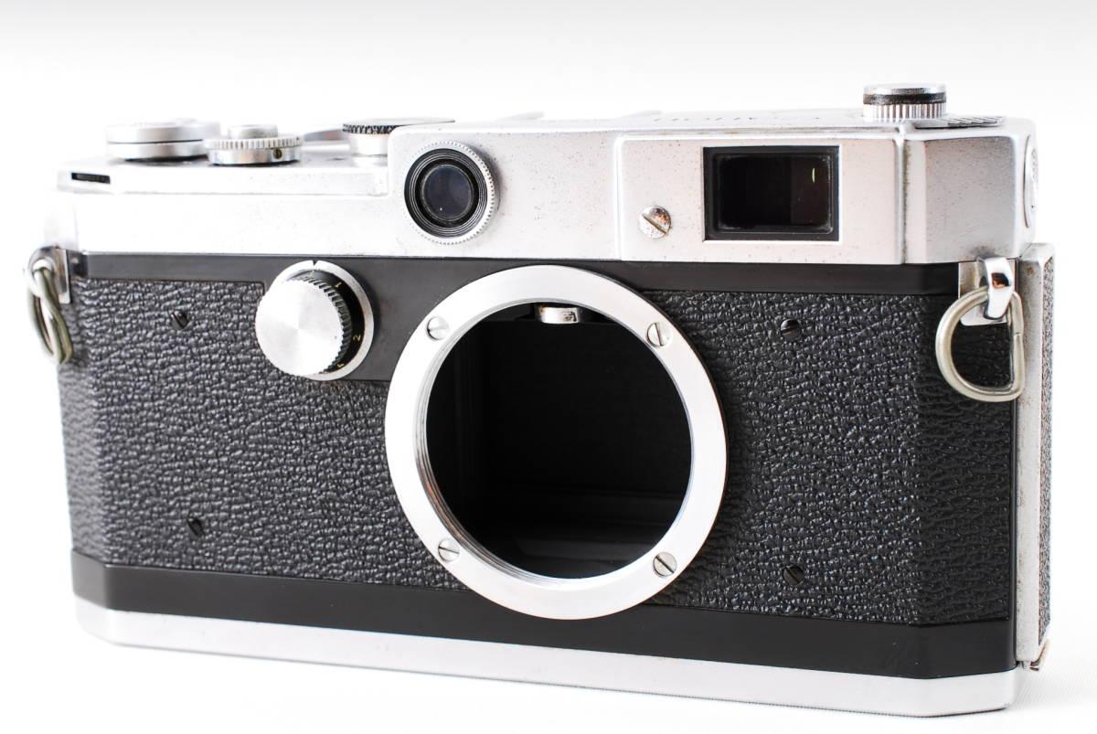 Canon Model L3 ライカマウント 50mm F1.8レンズ付き A15_画像2