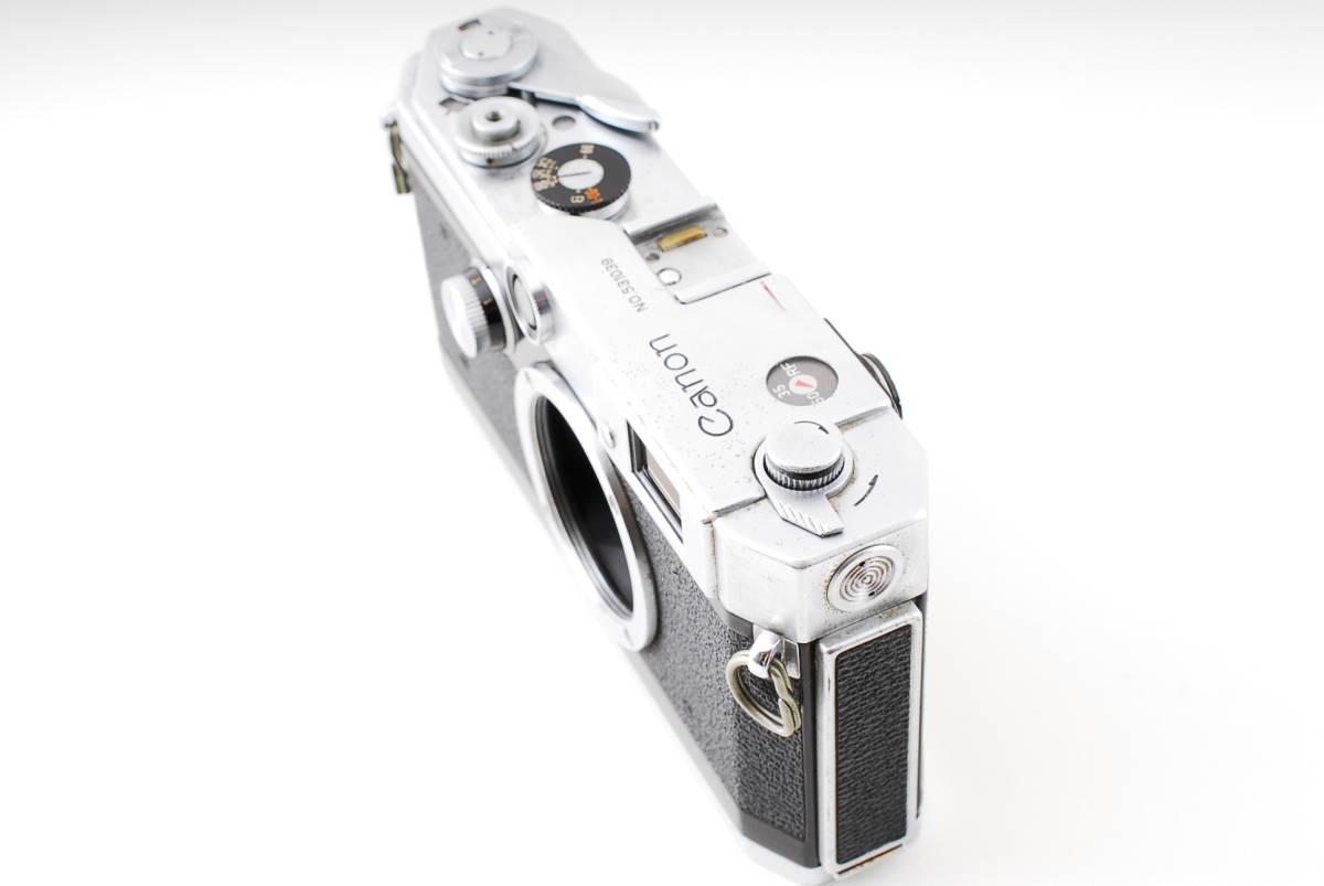 Canon Model L3 ライカマウント 50mm F1.8レンズ付き A15_画像3