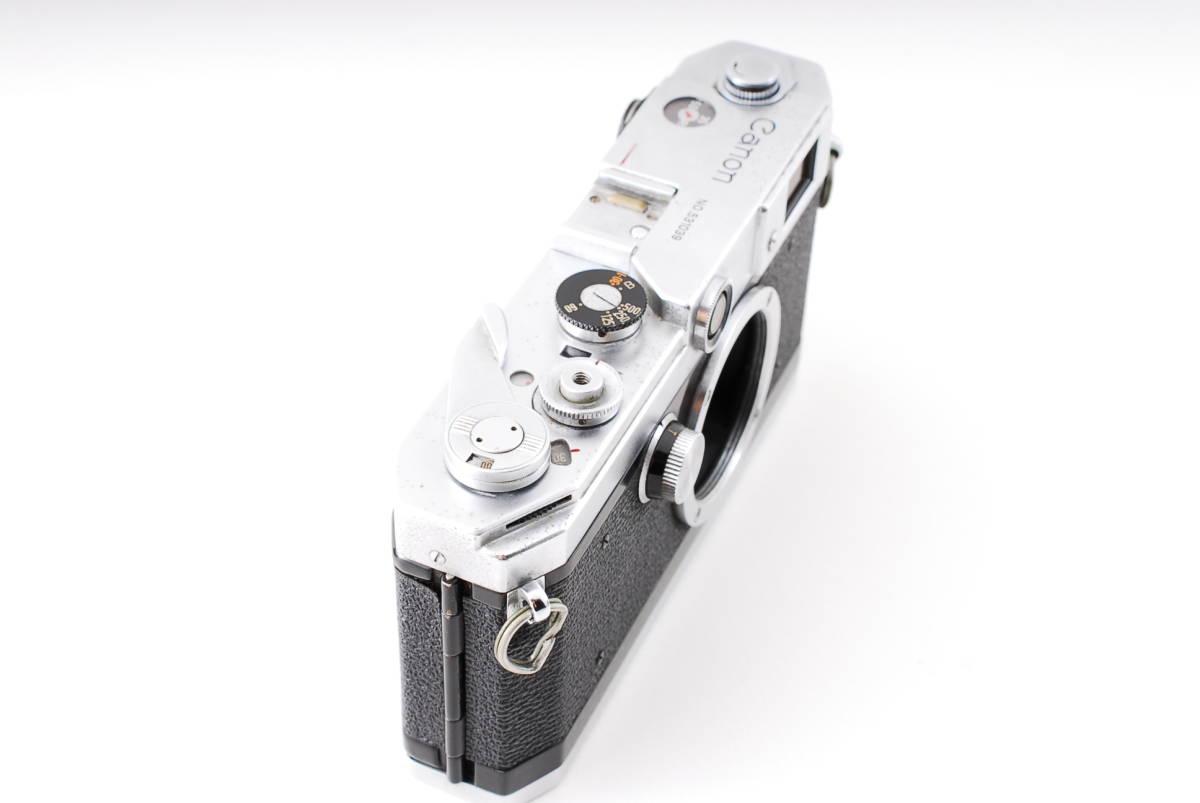Canon Model L3 ライカマウント 50mm F1.8レンズ付き A15_画像4
