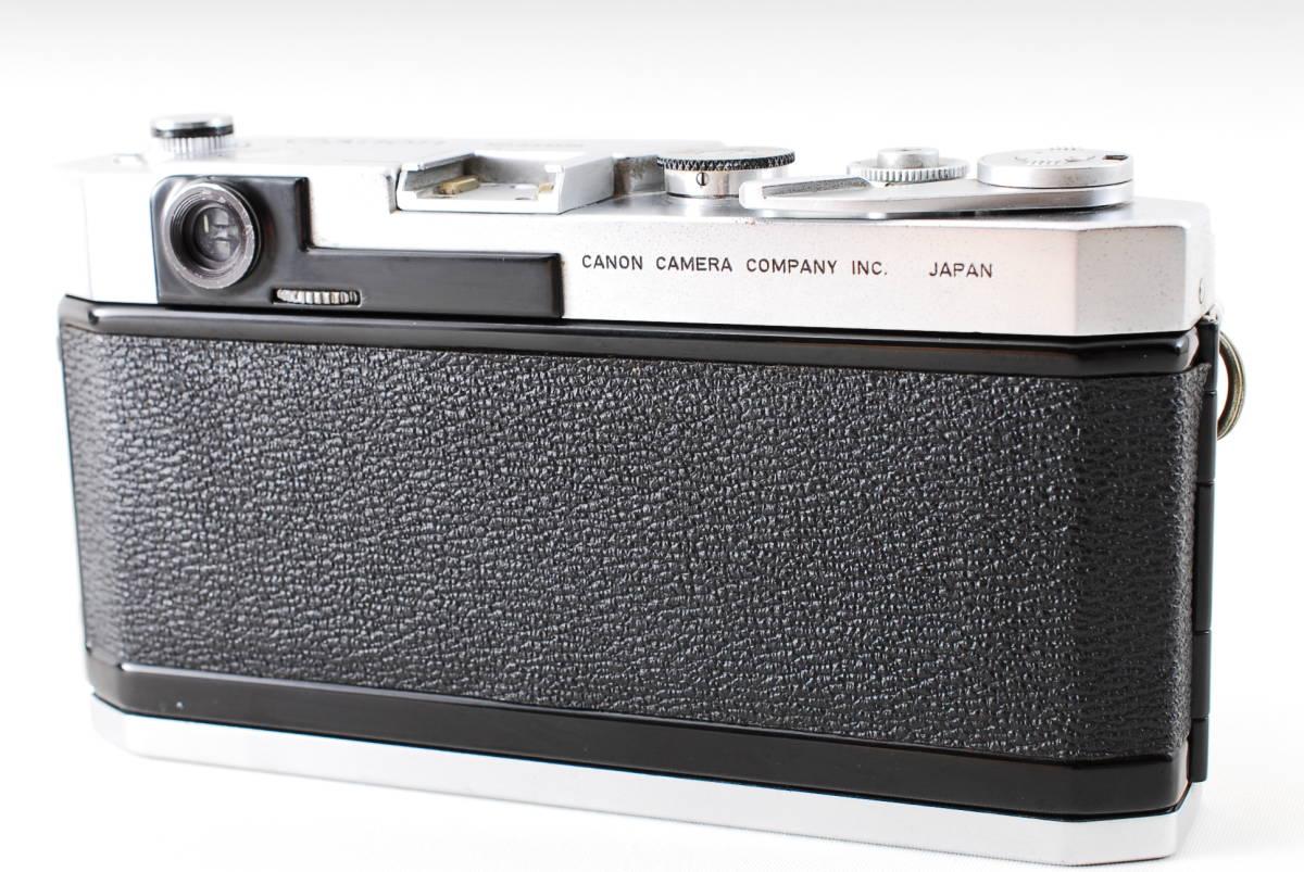 Canon Model L3 ライカマウント 50mm F1.8レンズ付き A15_画像5