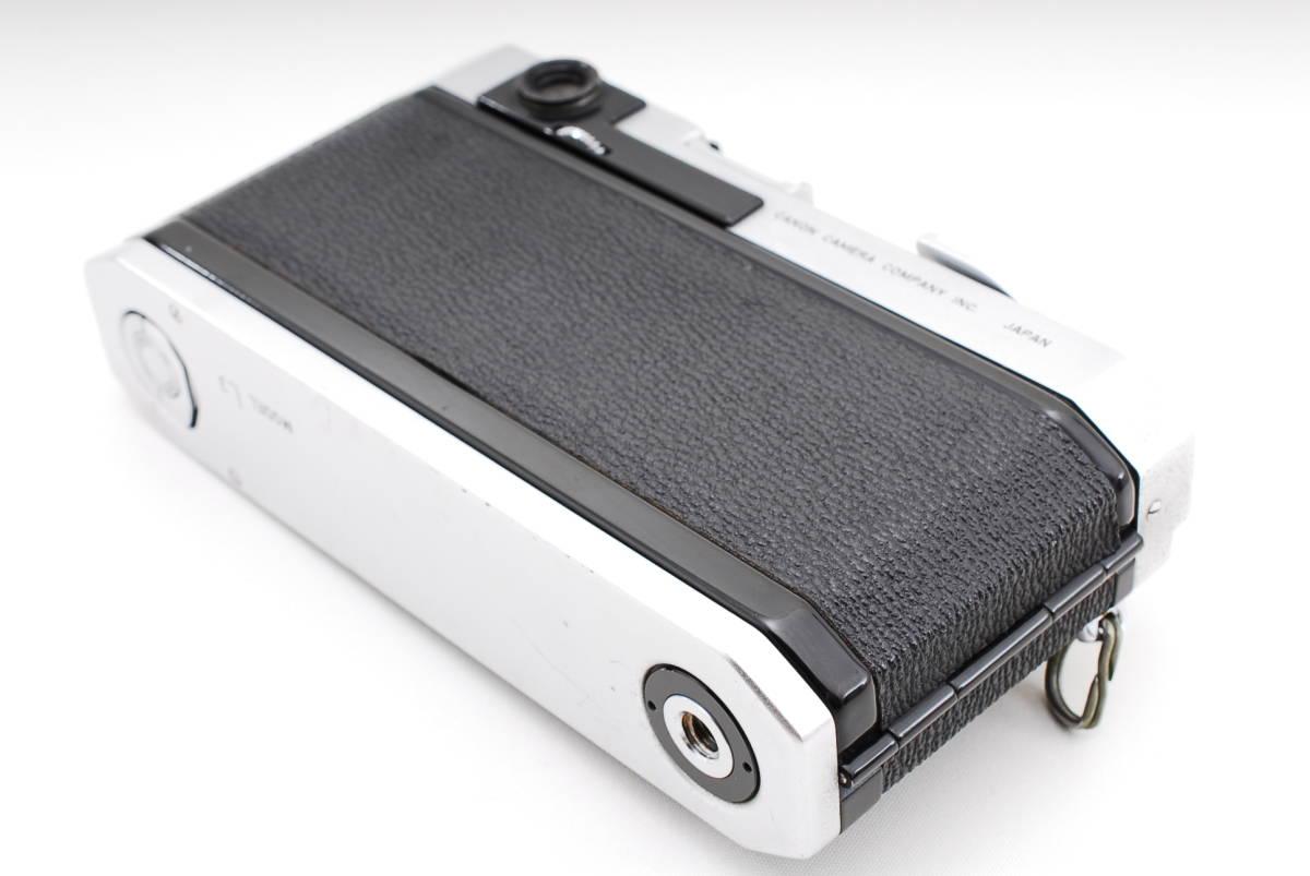 Canon Model L3 ライカマウント 50mm F1.8レンズ付き A15_画像6
