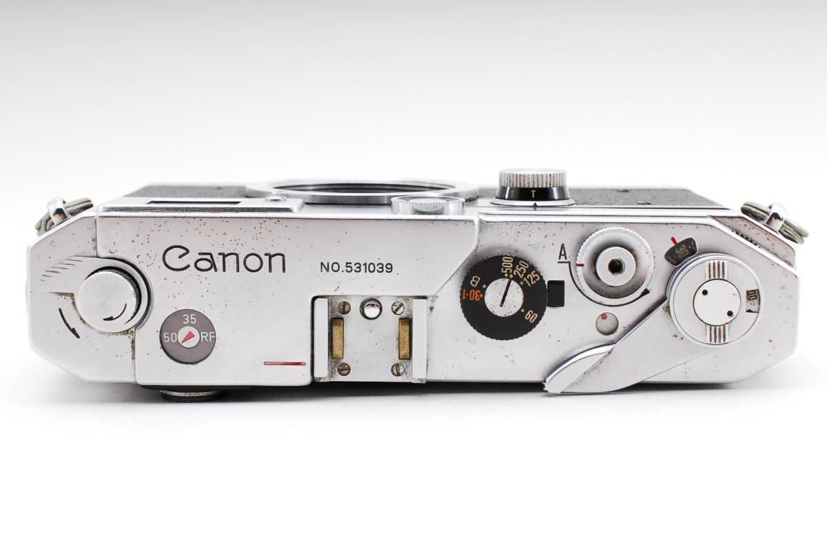 Canon Model L3 ライカマウント 50mm F1.8レンズ付き A15_画像7
