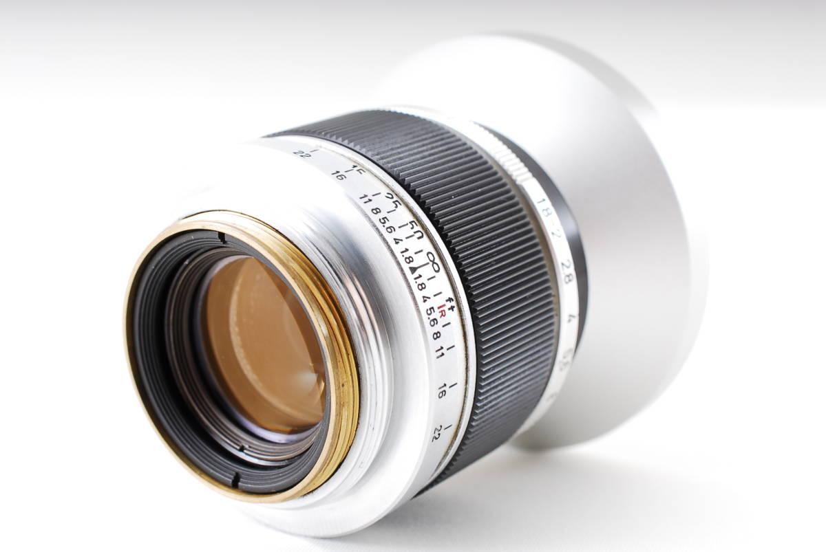 Canon Model L3 ライカマウント 50mm F1.8レンズ付き A15_画像9