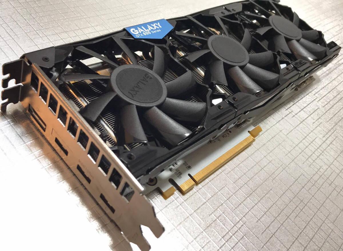 伝説の白基板GTX ■ GALAXY GeForce GTX 680 SOC White Edition ■ 68NPH6DT6EXZ ■ (美品・動作確認済み)
