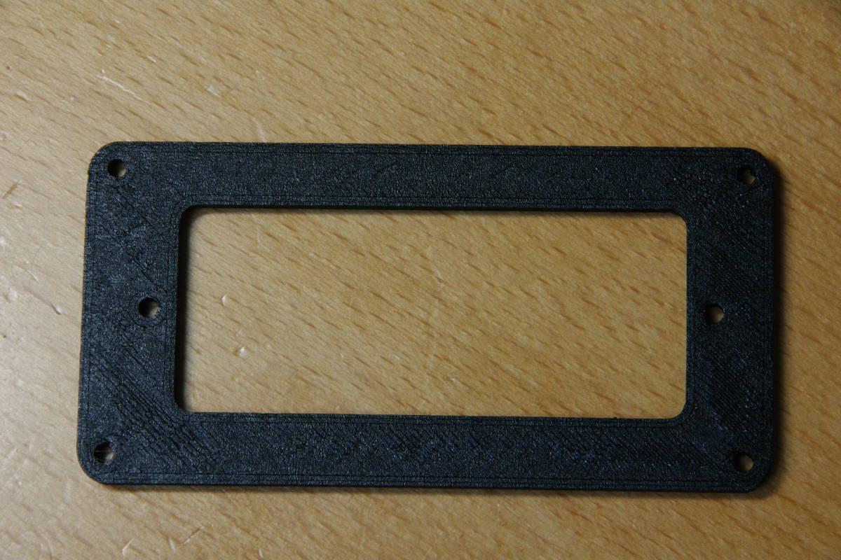 【即決:880円】 ピックアップマウンティングリング / Gibson Firebird Mini-Humbucker用 / PLA(植物由来ポリ乳酸樹脂)製_画像3