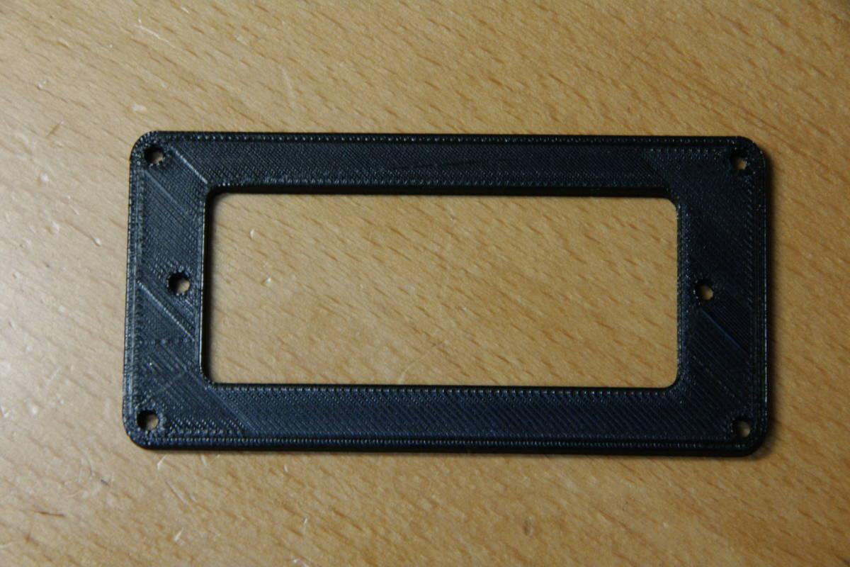 【即決:880円】 ピックアップマウンティングリング / Gibson Firebird Mini-Humbucker用 / PLA(植物由来ポリ乳酸樹脂)製_画像2