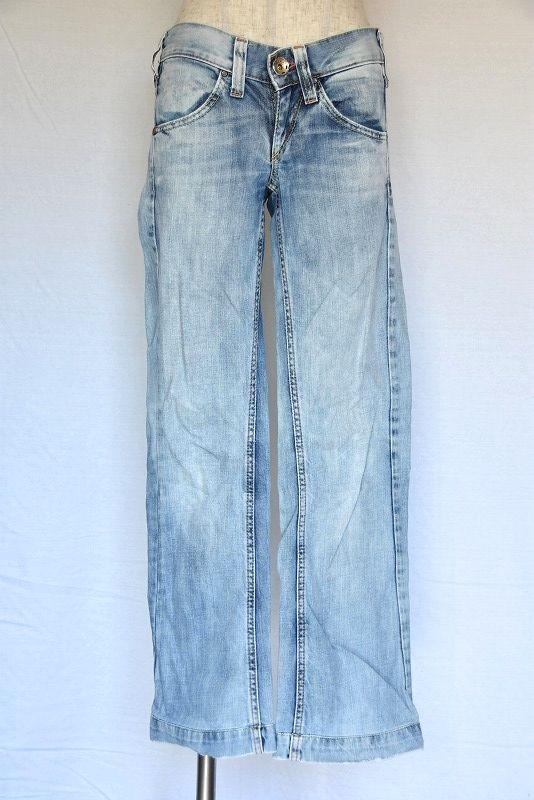 Long Sleeve Jean Skirt Light Color