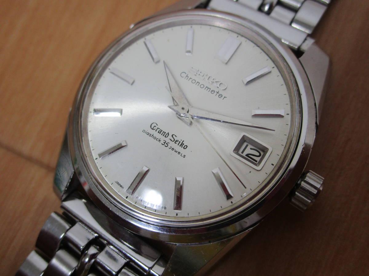 Grand Seiko / グランドセイコー / 5722-9990 / SS / Chronometer / Diashock35石 / メダリオン(セカンド獅子メダル)/ 手巻き式 / 可動品_画像3