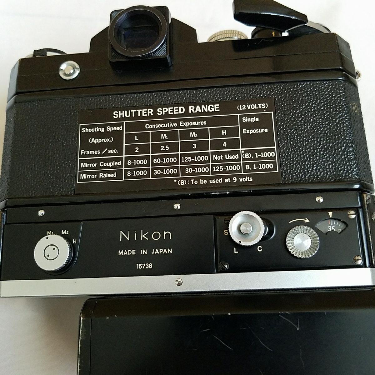 ニコン Nikon F アイレベル F36 MOTOR DRIVE フィルムカメラ_画像6