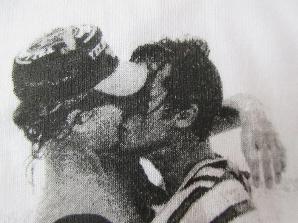 90's USA製 パメラ ハンソン FOTOFOLIO John and Hunter フォト Tシャツ L 白 Pamela Hanson 写真家 Girls写真 芸術 ART 現代美術 美術館_画像6