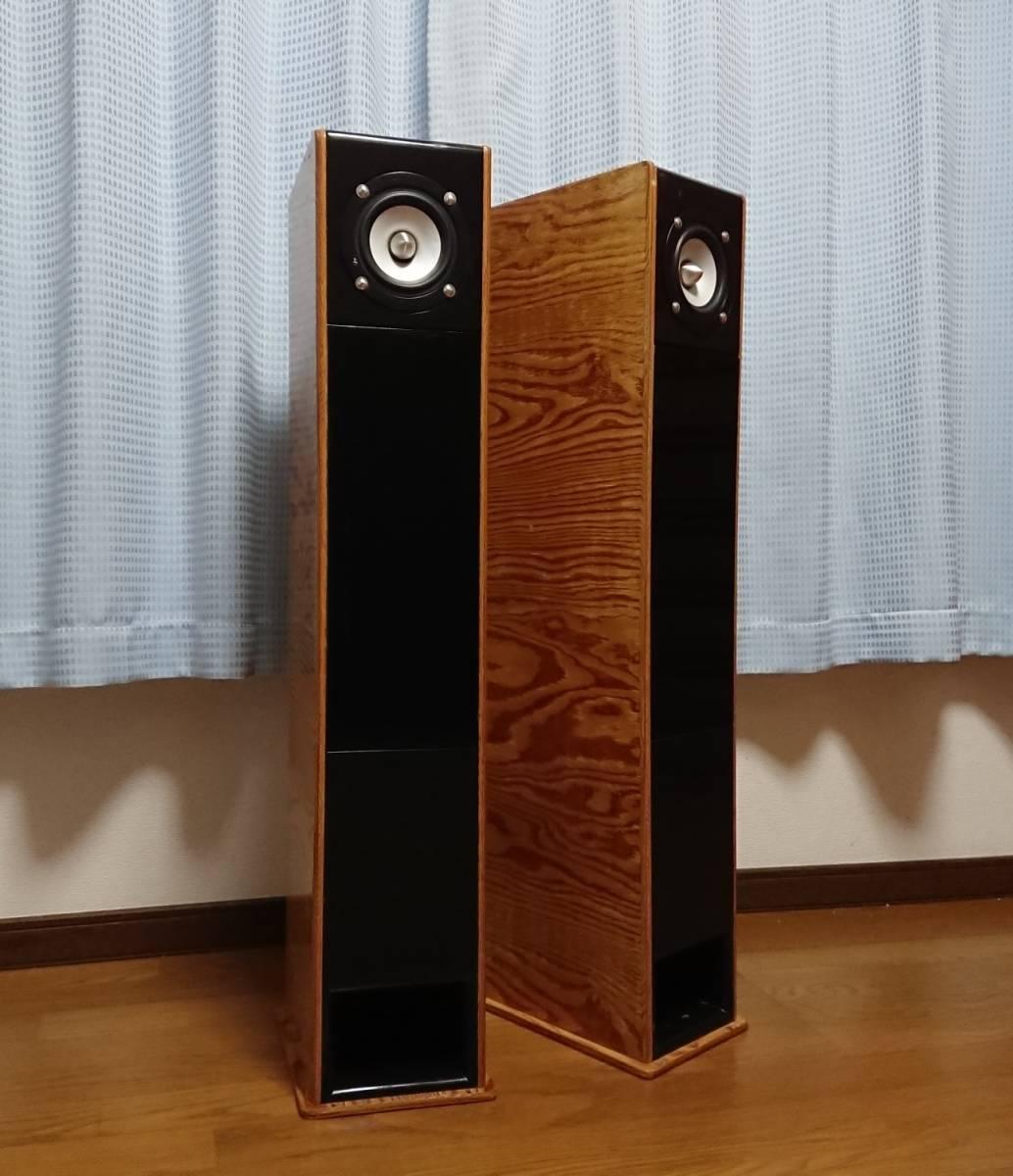 自作 TQWT 方式 TangBand W4-657SC 10cm フルレンジ スピーカー ペア 音出し確認済み_画像6