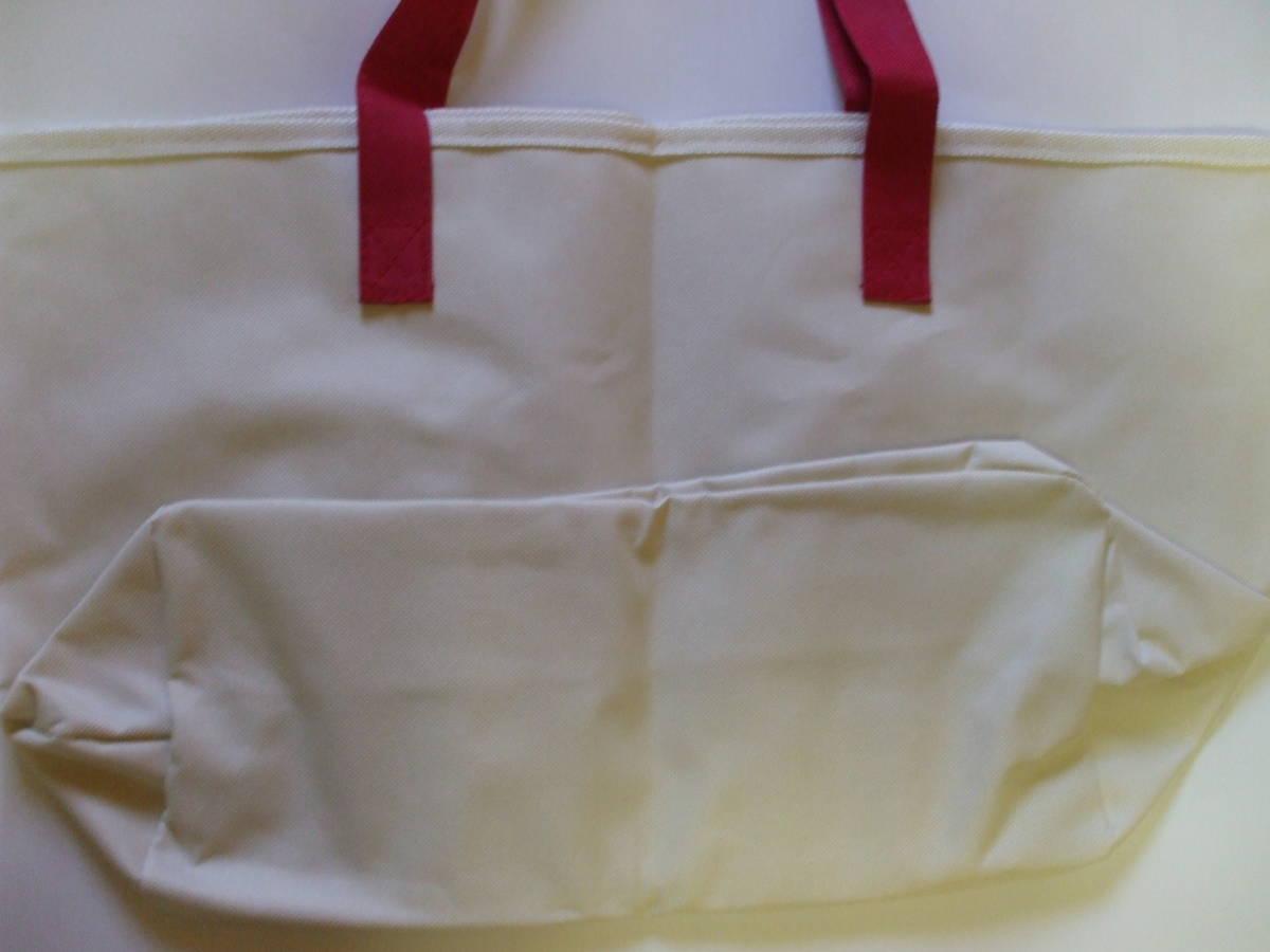 [非売品] ♪ 新品未使用 ♪ サントリー ボス キャンペーン リサ・ラーソン マルチバッグ  ①レッド ♪  _画像3