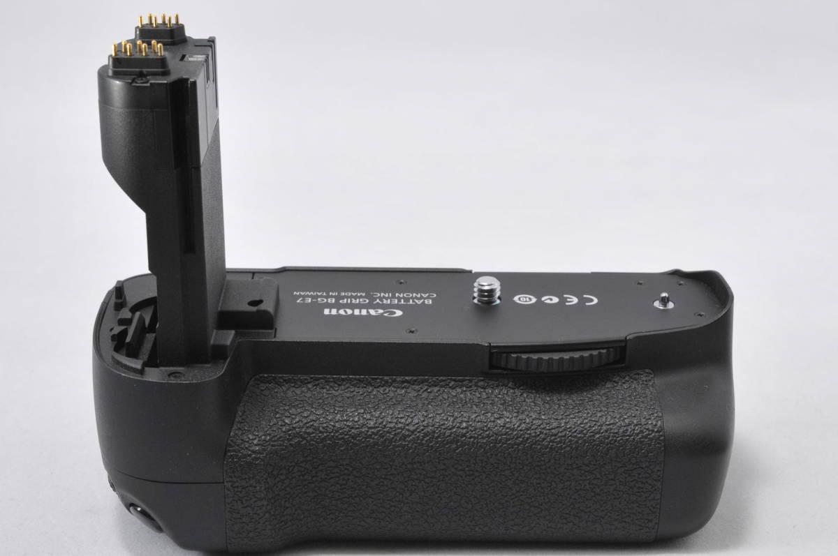 ◆少し訳あり◆ キャノン Canon BG-E7 バッテリーグリップ 純正 EOS 7D用 #C13JAN04473