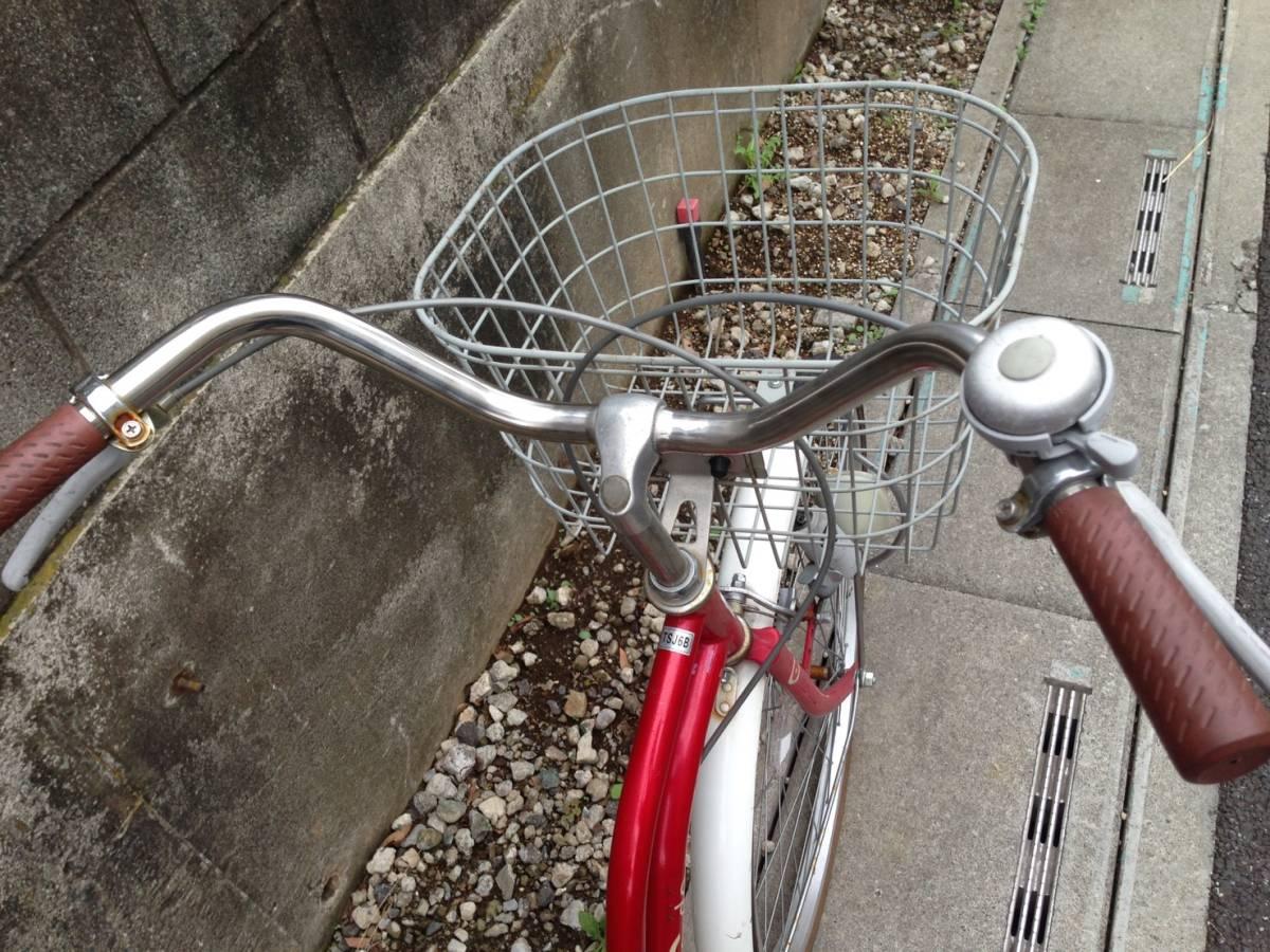 【中古】サイクルスポット 自転車 レッド 変速なし 26型_画像2