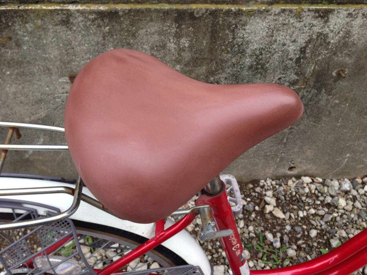 【中古】サイクルスポット 自転車 レッド 変速なし 26型_画像7