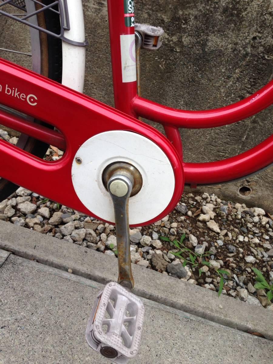【中古】サイクルスポット 自転車 レッド 変速なし 26型_画像6