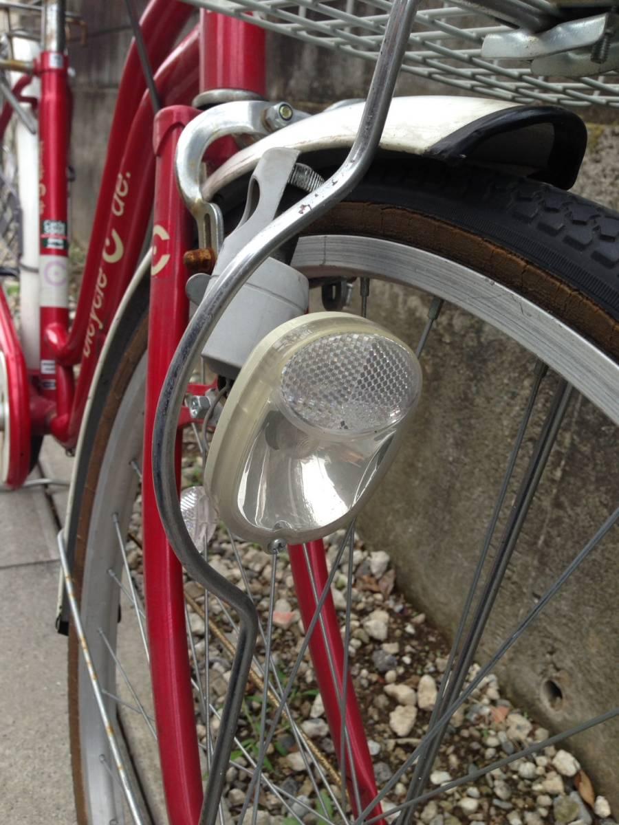 【中古】サイクルスポット 自転車 レッド 変速なし 26型_画像3