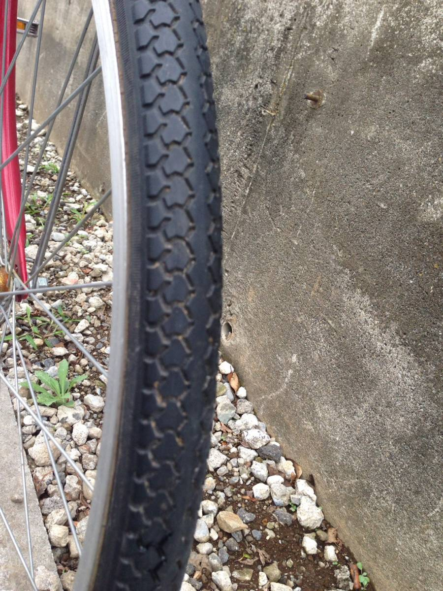【中古】サイクルスポット 自転車 レッド 変速なし 26型_画像4