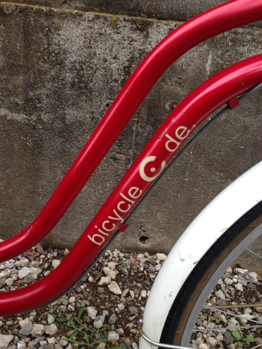 【中古】サイクルスポット 自転車 レッド 変速なし 26型_画像5