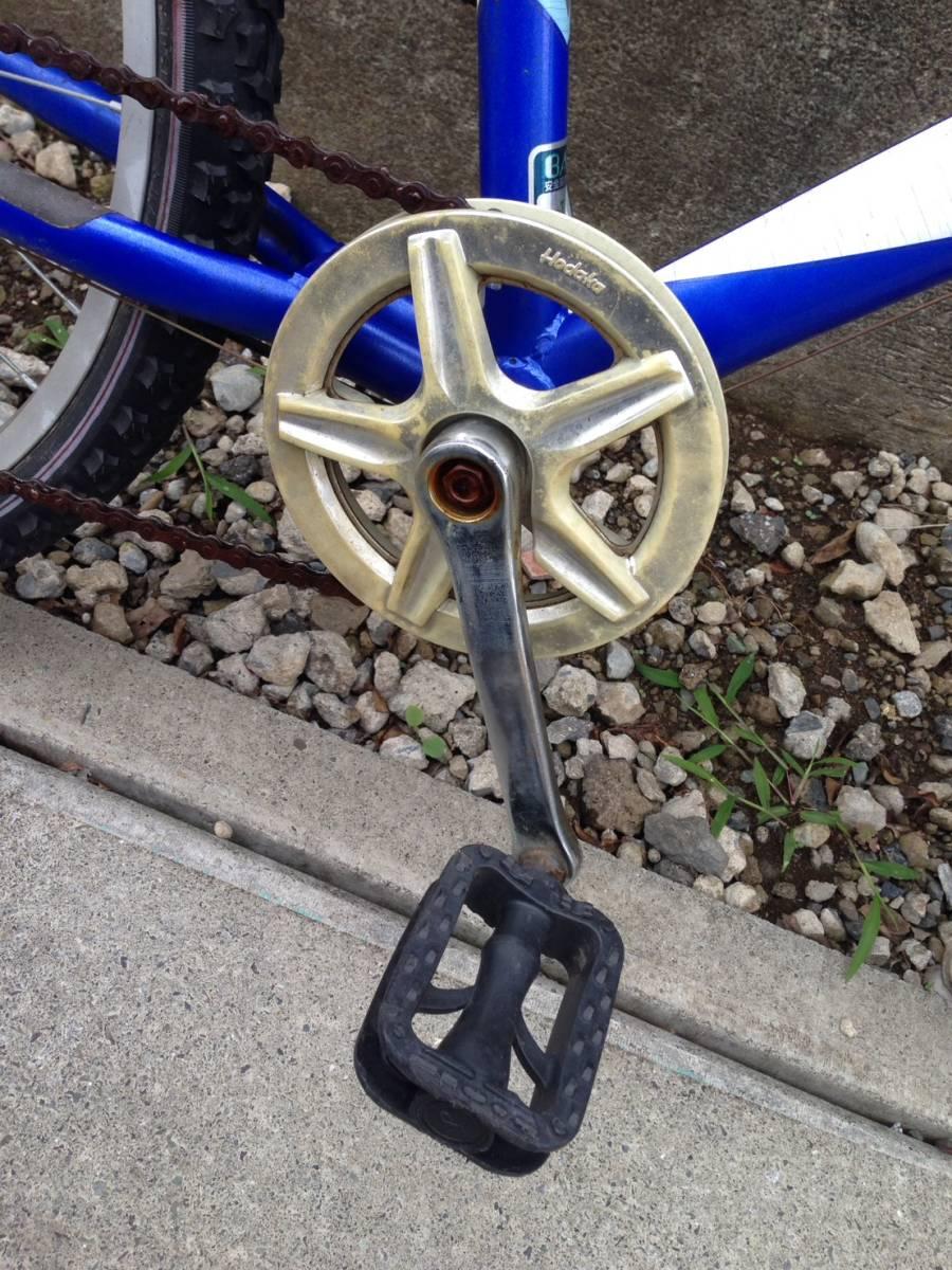 【中古】マルキン自転車 子供用自転車 ACTRON ブルー 6段変速 24型_画像5