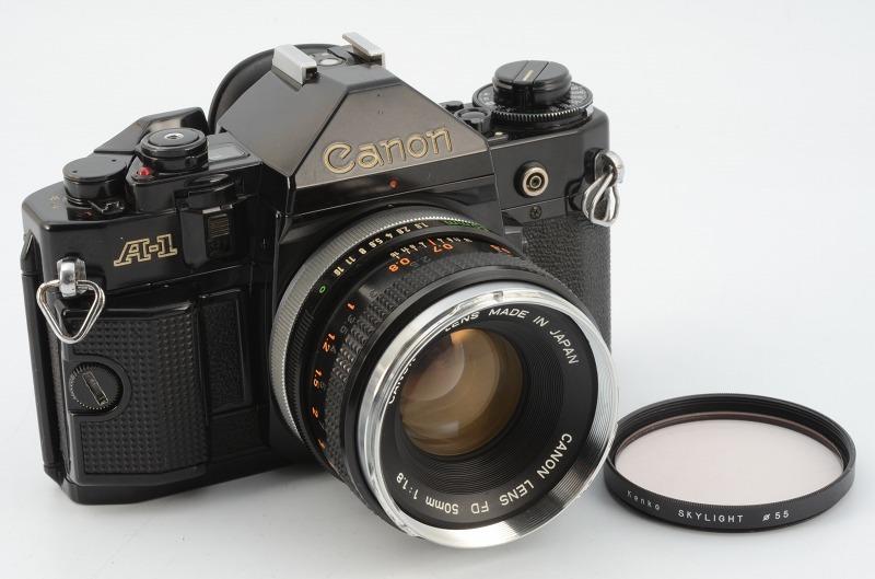 ☆動作好調☆ Canon A-1 FD 50mm F1.8 キャノン キヤノン_画像2