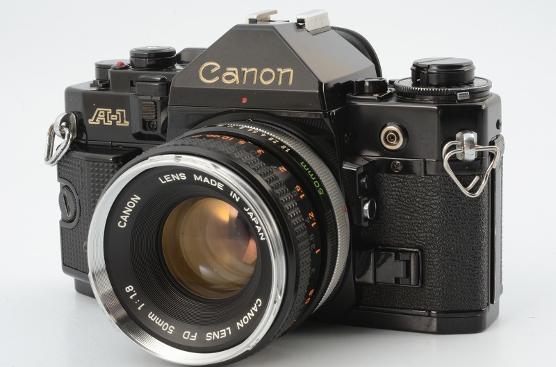 ☆動作好調☆ Canon A-1 FD 50mm F1.8 キャノン キヤノン