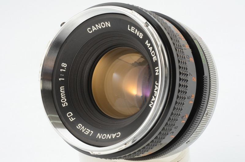 ☆動作好調☆ Canon A-1 FD 50mm F1.8 キャノン キヤノン_画像9