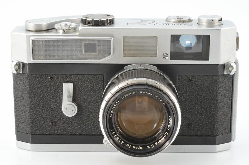 ☆正常撮影可能☆ Canon MODEL 7 キャノン モデル 7 50mm F1.8 レンズ付き キヤノン_画像3