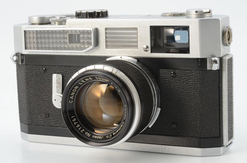 ☆正常撮影可能☆ Canon MODEL 7 キャノン モデル 7 50mm F1.8 レンズ付き キヤノン