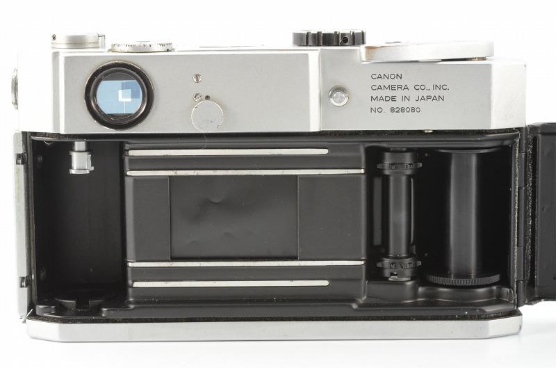 ☆正常撮影可能☆ Canon MODEL 7 キャノン モデル 7 50mm F1.8 レンズ付き キヤノン_画像6