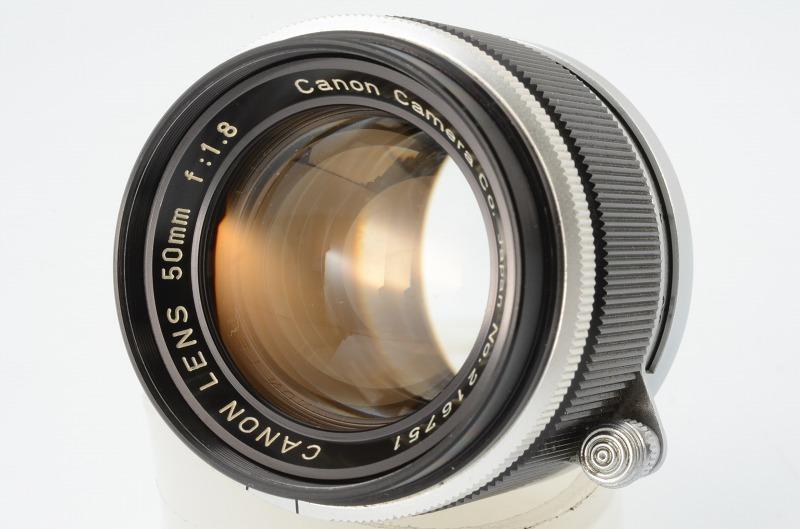 ☆正常撮影可能☆ Canon MODEL 7 キャノン モデル 7 50mm F1.8 レンズ付き キヤノン_画像8