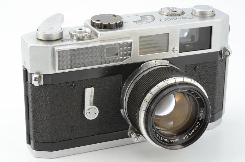 ☆正常撮影可能☆ Canon MODEL 7 キャノン モデル 7 50mm F1.8 レンズ付き キヤノン_画像10