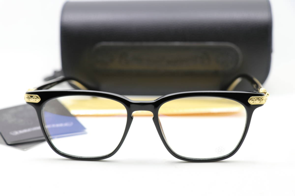 new old goods .. glasses Chrome Hearts glasses frame GISS black ...