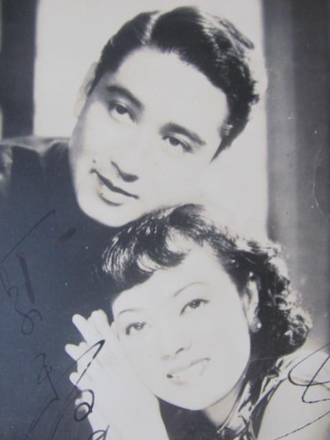 ◆1940年頃のスチール写真「李香蘭・長谷川一夫」両名直筆サイン付・大陸三部作・山口淑子_画像2