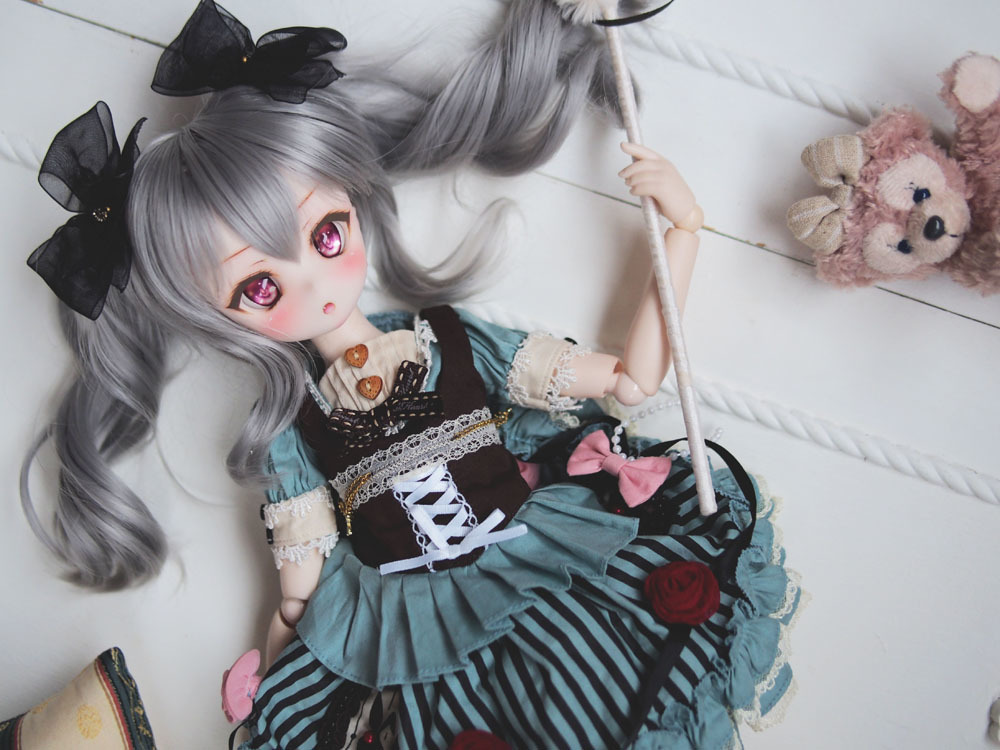 ☆ALINA☆DDH-01 セミホワイト肌 カスタムヘッド※やや難_画像3