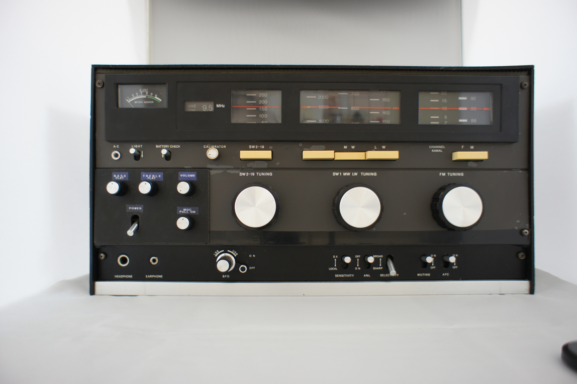 SONY ワールドゾーン23 CRF-230改造受信機