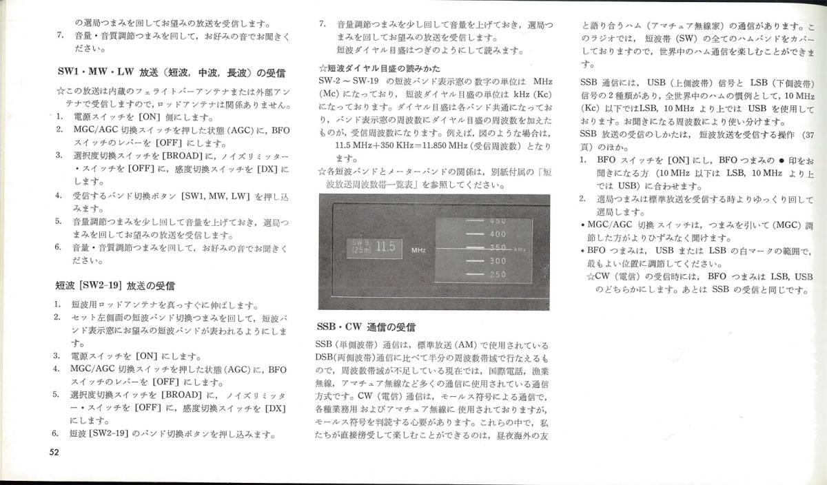 SONY ワールドゾーン23 CRF-230改造受信機_画像8