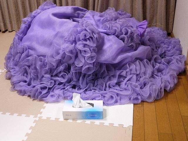 ウエディングドレス パーティドレス 作り直しの15号_画像9