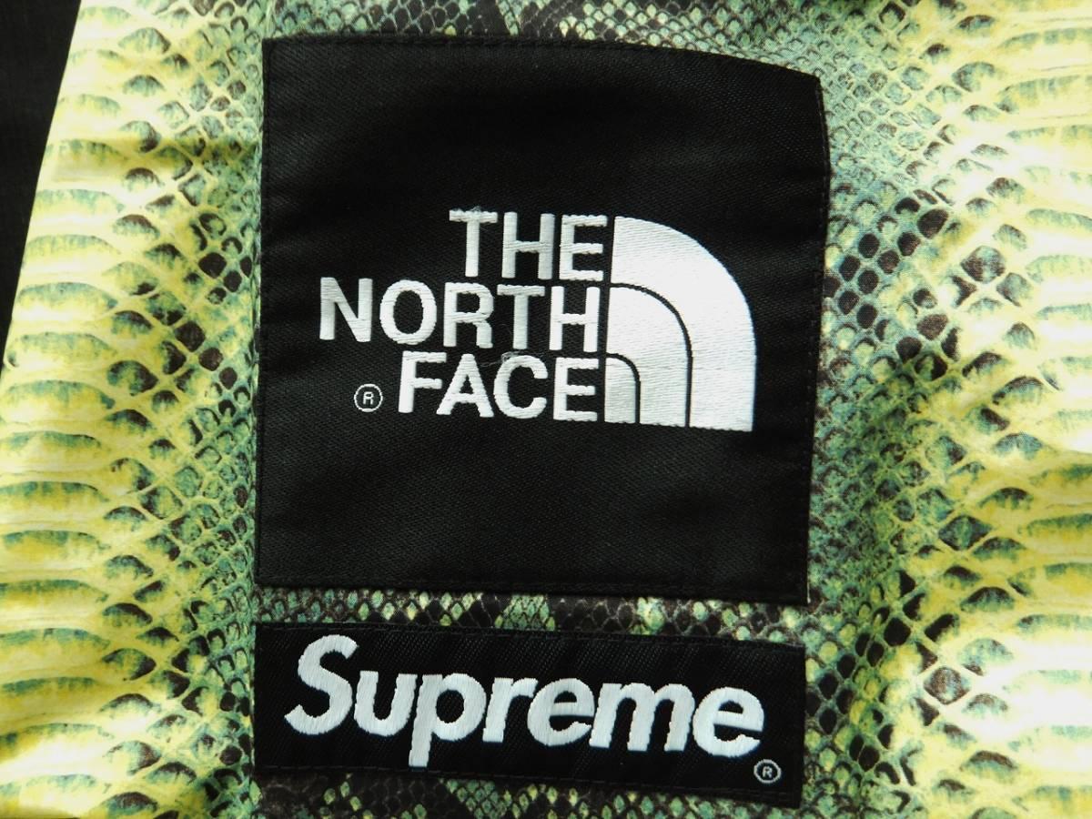 シュプリーム × ノースフェイス スネーク コーチジャケット  ナイロンジャケット 新品 未使用品 2018SS 正規品 Supreme THE NORTH FACE_画像4