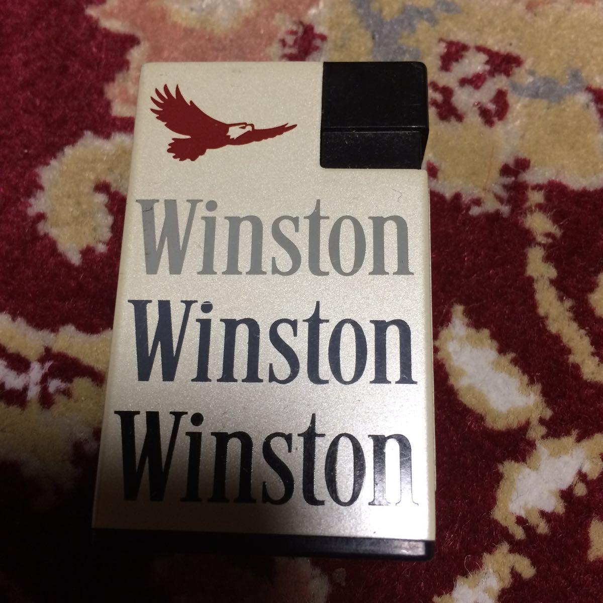 Winston gas lighter C: Real Yahoo auction salling