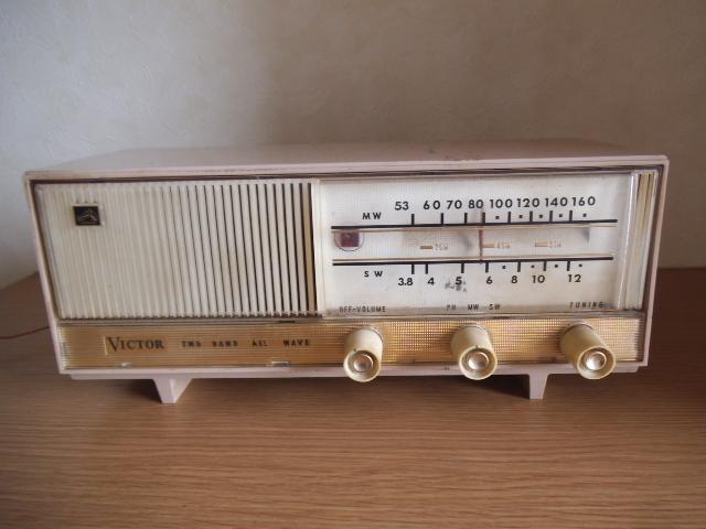 ビクター真空管ラジオ MW SW 2BAND ジャンク