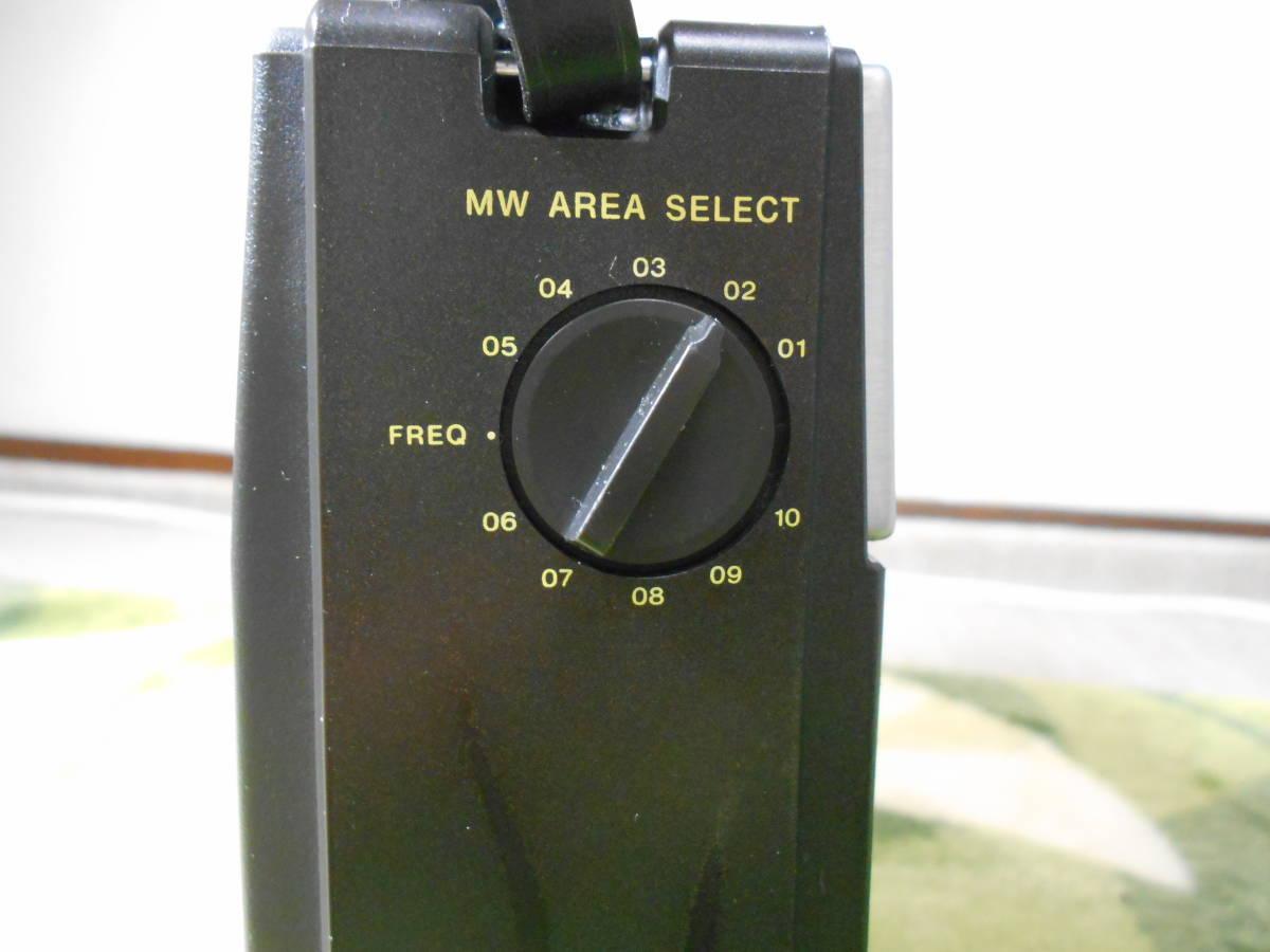 SONY 「ザ・感度最終型」 FM/MW/NSB1/2ラジオ ICF-S5 動作品 きれいです_画像4