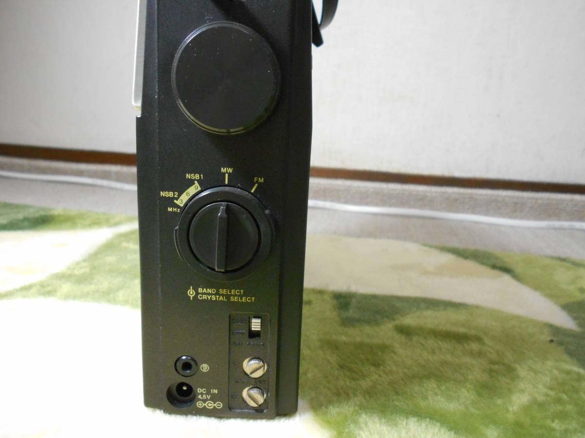 SONY 「ザ・感度最終型」 FM/MW/NSB1/2ラジオ ICF-S5 動作品 きれいです_画像5